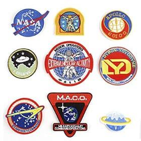 parches de astronauta