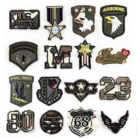 parches militares para ropa