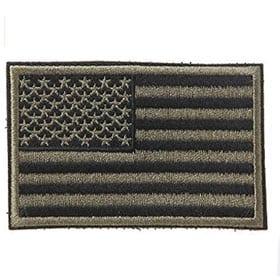 Bordado bandera americana