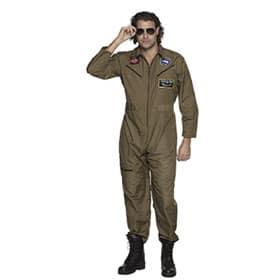 mono de piloto de jet
