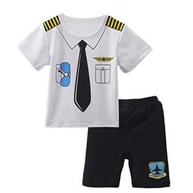 Conjunto disfraz de piloto bebé