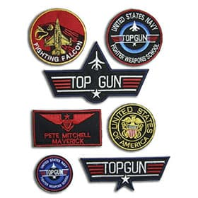 Pack de parches top gun