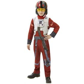 Disfraz niño Star Wars Poe X-Wing