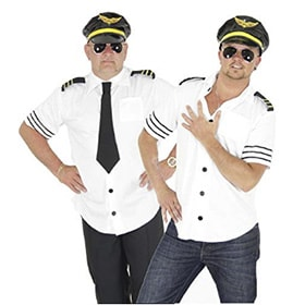 Camiseta de piloto carnaval