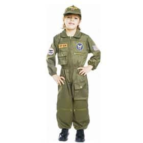 Disfraz de piloto de la fuerza aérea