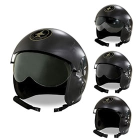 casco de piloto avion
