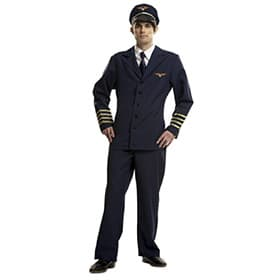Disfraz de piloto para hombre