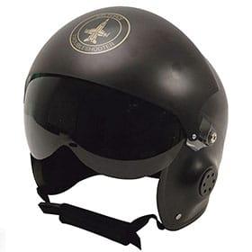 casco de piloto disfraz