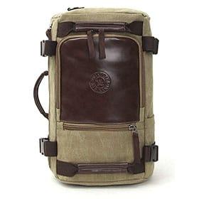 mochila de cabina cuero