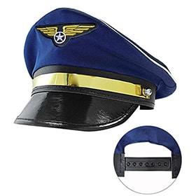 gorra de piloto ajustable