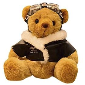 oso piloto de felpa