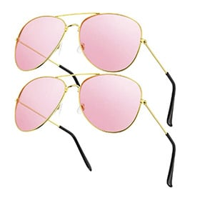 pack 2 gafas piloto