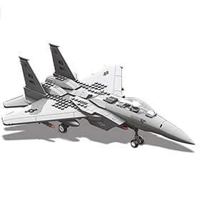 Avion F15 de juguete