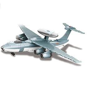 avion radar de juguete