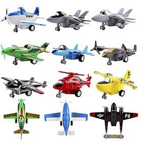 pack de aviones de juguete