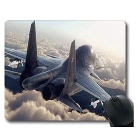 alfombrilla de avion de combate