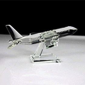 avion de cristal